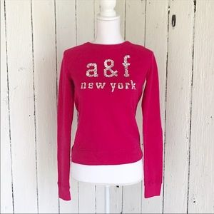 Abercrombie Kids- soft zip sweater